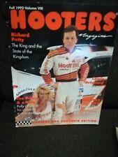 HOOTERS Magazine Fall 1992(HOOTER 500 Souvenir Edition)Alan Kulwicki Cover PETTY