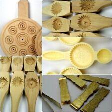 Wood Maamoul Mold For Dates Mould bread Handmade قالب ملقط معمول اقراص  Choose