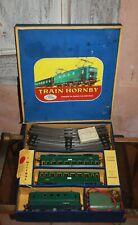 Coffret OBBV Le Mistral train HORNBY Echelle O MOTRICE SNCF BB 8051 ...