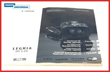 CANON LEGRIA HF G30 BEDIENUNGSANLEITUNG