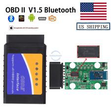 Auto Car OBD2 Tools V2.1 Bluetooth For Android/Windows Support OBD2 Protocols