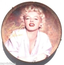 "Bradford Exchange LOVE MARILYN ""Tempting In Terrycloth"" Marilyn Monroe Plate"