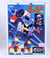 Vintage NEW GIGO BLOCKS-Star Robots Interchangable Blocks. 311 Pieces