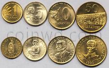 Paraguay 4 coins set 1990-1995 Unc (#1754)