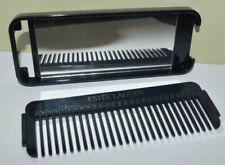 ESTEE LAUDER Navy Blue Portable Comb & Mirror Set ~ Great For Travel B95