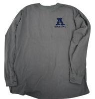 Press Box Mens NCAA USU Utah State Aggies Long Sleeve Shirt NWT $42 S, L, XL