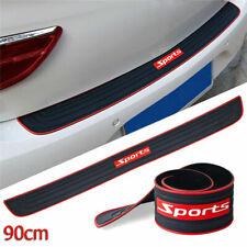 1x Rubber Car Accessories Rear Guard Bumper Scratch Protector Non-slip Pad Cover