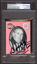 BOBBY HULL BLACK HAWKS AUTOGRAPH SIGNED ON MAURICE RICHARD LEGEND CARD PSA DNA