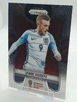 2018 Jamie Vardy World Cup Panini Prizm Card