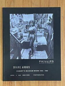 Diane Arbus Photographs Auction Catalogs, Christies, Phillips, April 2008