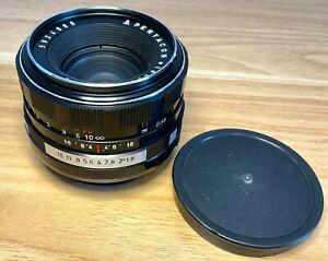 Pentacon Auto 50mm f/1.8 M42 Mount Prime Lens - Digital SLR - MINT (990)
