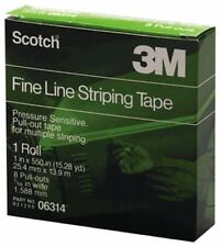 "3M 06314 Scotch Fine Line Striping Tape (1"" x 550"") 6314"