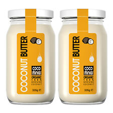 2 X Organic pure 100 % natural coconut butter 335g for cooking and baking