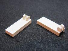 LEGO 4531 @@ Hinge Tile 2 Fingers on Top - White x 2 - 6544 6893 6938 6982
