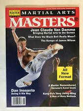 Martial Arts Masters Magazine 1992 Rare Dan Inosanto Van Damme Karaté Mma Kempo