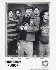 Powerman 5000- Music Memorabilia Photo