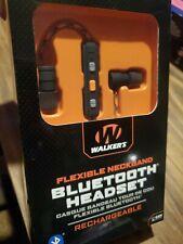 Walker's GWP-RP-BT Flexible Magnetic Bluetooth Neckband Earbuds w/ Case