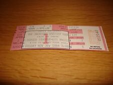 Michael Jackson Victory Tour Concert Unused Full Ticket November 1984 MEGA RARE