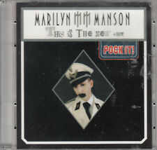 "Marilyn Manson - This Is The New hit (3"") Mini Pock it CD 2003 Heavy Metal"