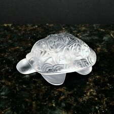 Lalique Turtle 'Sidonie' with Box