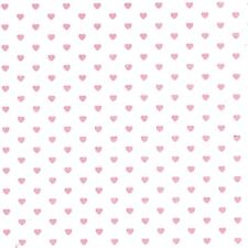 Tiny Soft Pink Hearts Tissue Paper # 459 ~ 10 Large Sheets
