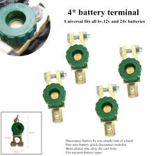 4xRV Battery Link Terminal Quick Cut-off Disconnect Master Kill Shut Switch Tool