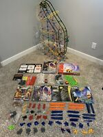 Knex Roller Coaster Lot Cobra's Curse Dueling, Infinite Journey, Star Shooter +