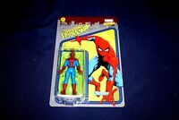 "RETRO MARVEL KENNER 3.75"" ACTION FIGURE SPIDER-MAN HASBRO 2021 UNPUNCHED CARD"
