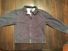 Boy's Gap, J. Crew Utility Canvas Navy Blue Jacket Coat Lined Size M (7-8)