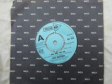 LOUIS ARMSTRONG I WILL WAIT FOR YOU / TALK TO THE  mca 1029 demo / promo 45 rpm