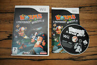 Jeu WORMS L'ODYSEE SPATIALE Complet pour Nintendo Wii PAL (CD OK)