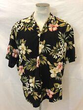 Kalaheo Hawaiian Shirt Mens 2XL Floral Tropical Made In Hawaii