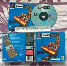 Theme Park (COMPLETE) Sony PlayStation 1, PS1, Black Label