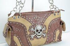 Brand New Brown Skull purse,