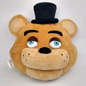 Five Nights At Freddy's FNAF Pillow 3D Freddy Bear NECA 2016 Plush Large