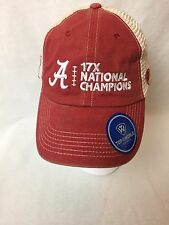 Alabama Crimson Tide 17x National Champions Trucker Hat By Top Of The World