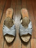 Stubbs & Wootton Silver Wedges Size 37
