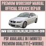 *WORKSHOP MANUAL SERVICE & REPAIR for BMW E90, E91, E92, E93 2005-2010 +WIRING