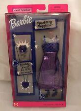 Barbie Fashion Avenue Outfit Jewel Sparkle Dress Shoes & Child Size Jewelry Nib