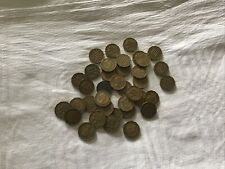 Job Lot of Thrupenny Bits. (Three Penny Pieces).(36 coins).