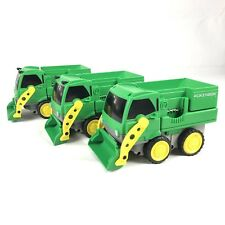 Rokenbok System Toy Company Green Front Loader Dump Truck 1997 Lot Of 3 Working