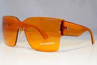 EMPORIO ARMANI Mens Womens Designer Sunglasses Shield AMBER EA 9894 MGZHQ 20873