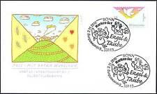 BRD 2010: Post-Grußmarke: Die Taube! FDC der selbstklebenden Nr. 2827! 1A 155