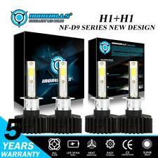 4x H1 LED Headlight 6000K Hi/Low Beam Kit for Jaguar X-Type 02-08 Mazda 6 06-08