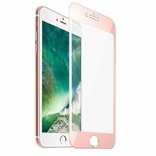 Apple iPhone 8 7 Plus Tempered Glass HD Ultra clear Screen Protector Rose Gold