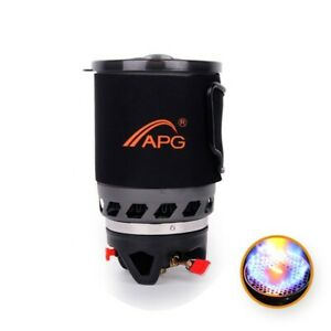 Outdoor Camping Gas Heat Cooking System Furnace Fires Fit Picnic Hiking Machine