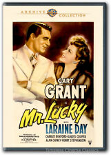 Mr. Lucky DVD New Cary Grant Laraine Day Gladys Cooper Alan Carney