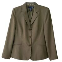 NWT Women's Evan Picone Sage Green Blazer Jacket Size 12P Fully Lined—gorgeous!