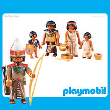 * Playmobil History * Egyptian Leader & Family * New Sealed in Packet *