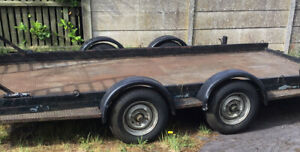 car transporter trailer Bed 14ft Overall 19ft Wants Tidying Proper Trailer Tyres